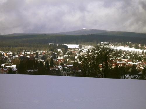Winter - Blick auf Braunlage