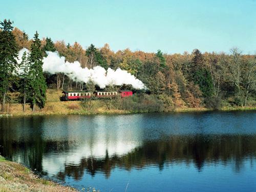 Harz - Harzer Schmalspurbahn am See