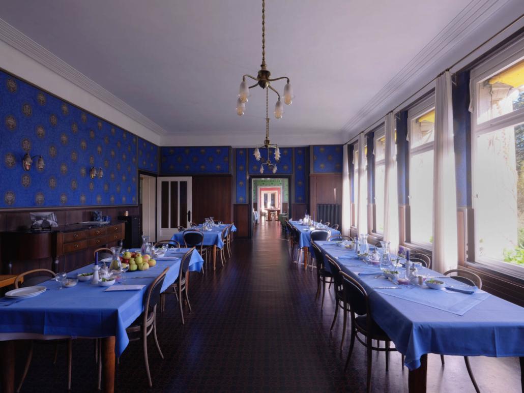 Klinik Dr. Barner - Blauer Speisesaal