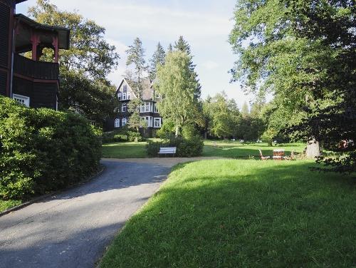 Park, Villa - Krankenhaus Sanatorium Dr. Barner
