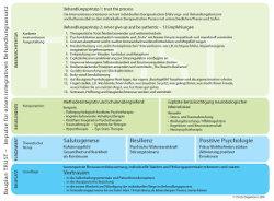 Psychoonkologische Behandlung - Bauplan TRUST