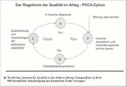 QM - PDCA-Zyklus