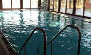 Psychosomatisches Krankenhaus Sanatorium Dr. Barner - Schwimmbad, Winter