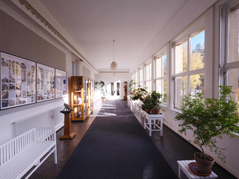 Wandelgang - Krankenhaus Sanatorium Dr. Barner