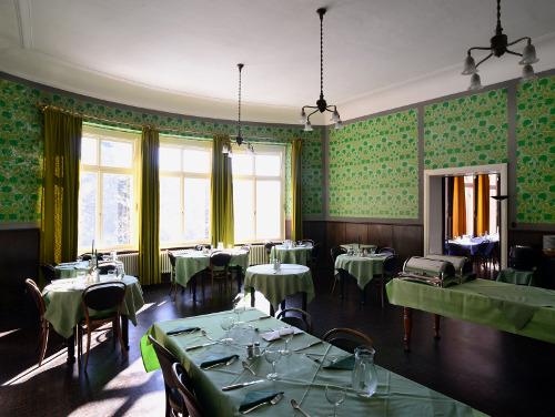 grüner Speisesaal - Krankenhaus Sanatorium Dr. Barner