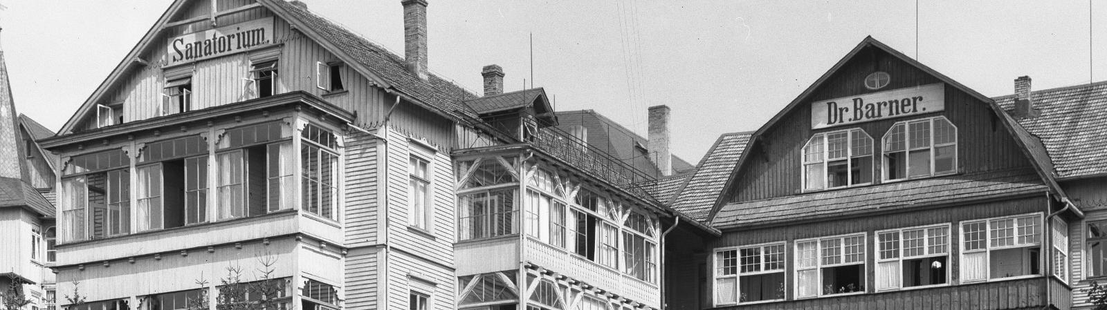 Krankenhaus Sanatorium Dr. Barner - Geschichte