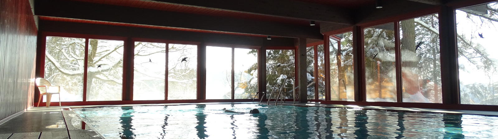 Krankenhaus & Sanatorium Dr. Barner - Schwimmbad im Winter