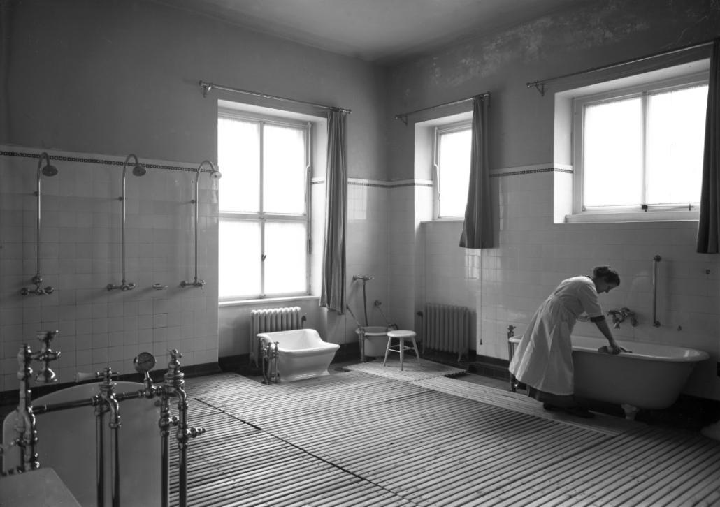 Ehemaliges Sanatorium Dr. Barner - Damenbad