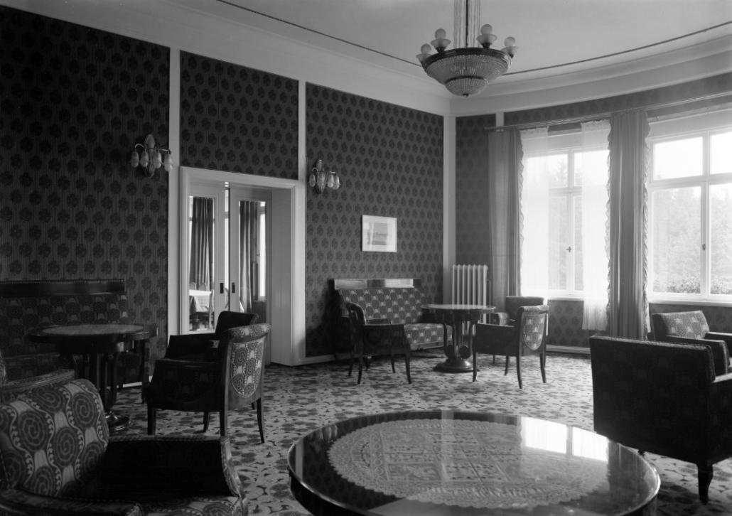 Ehemaliges Sanatorium Dr. Barner - Damenzimmer