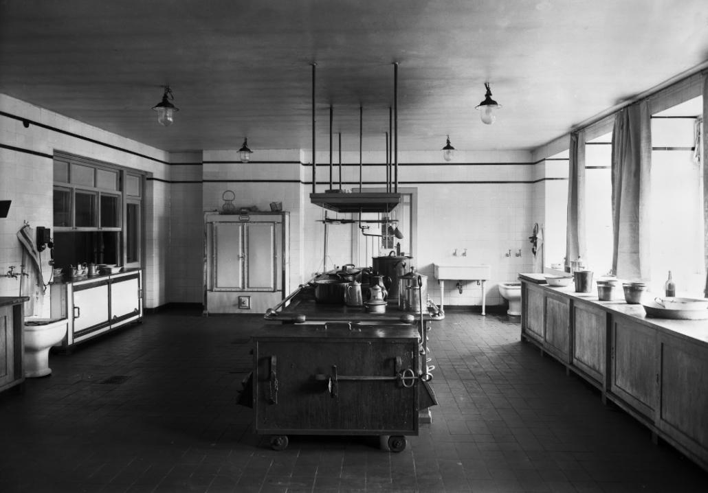 Ehemaliges Sanatorium Dr. Barner - Küche