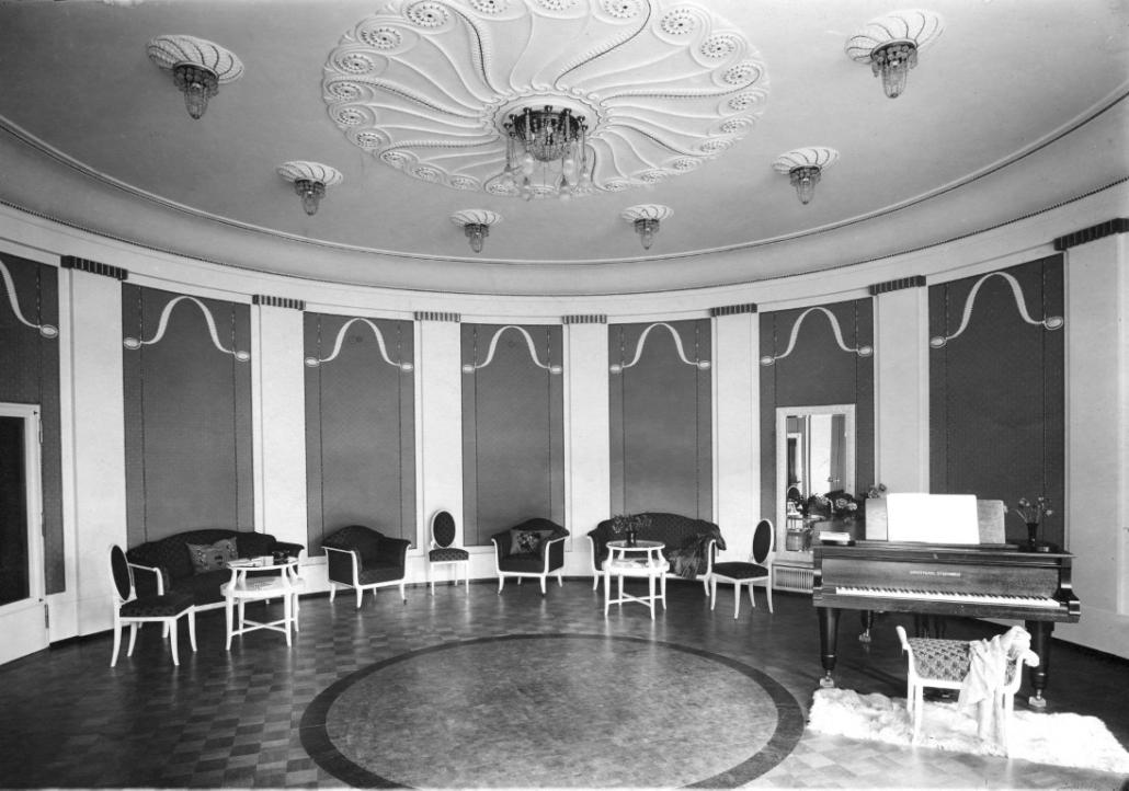 Ehemaliges Sanatorium Dr. Barner - Musiksaal