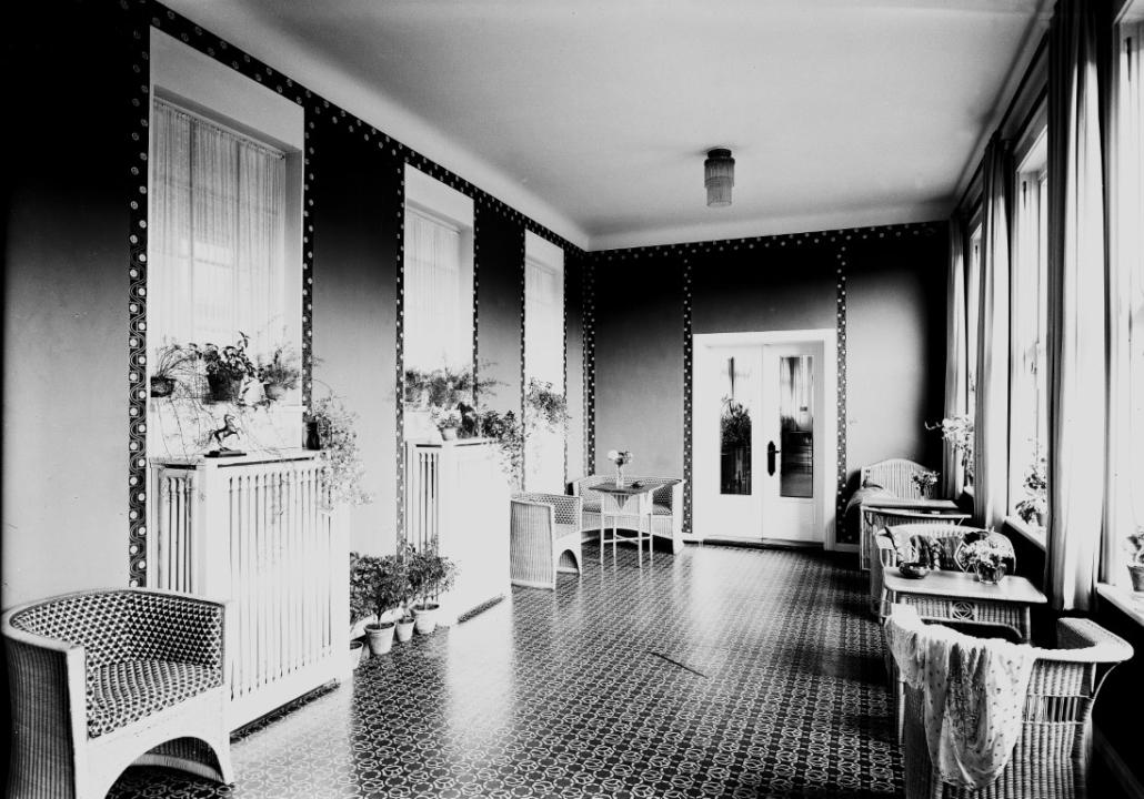 Ehemaliges Sanatorium Dr. Barner - Wintergarten