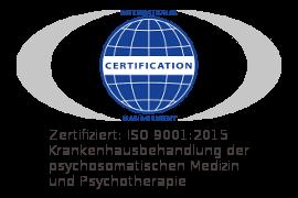 Klinik Psychosomatik mit QM-Zertifikat