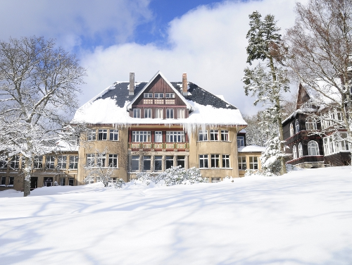 Winter im Krankenhaus & Sanatorium Dr. Barner