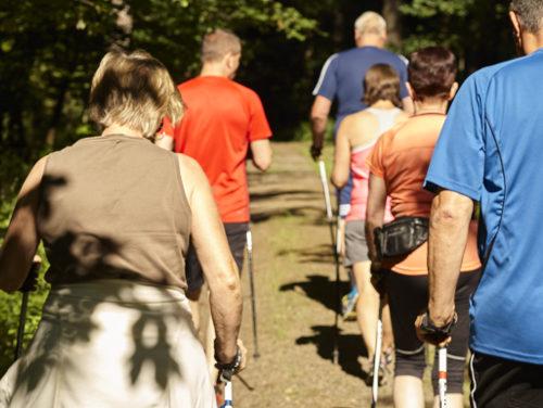 Nordic Walking - Krankenhaus Sanatorium Dr. Barner