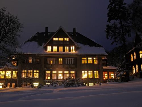 Winter im Krankenhaus Sanatorium Dr. Barner