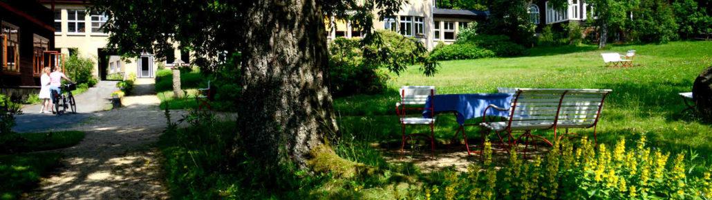 Psychosomatische Fachklinik Dr. Barner - Haupthaus, Vorderhaus
